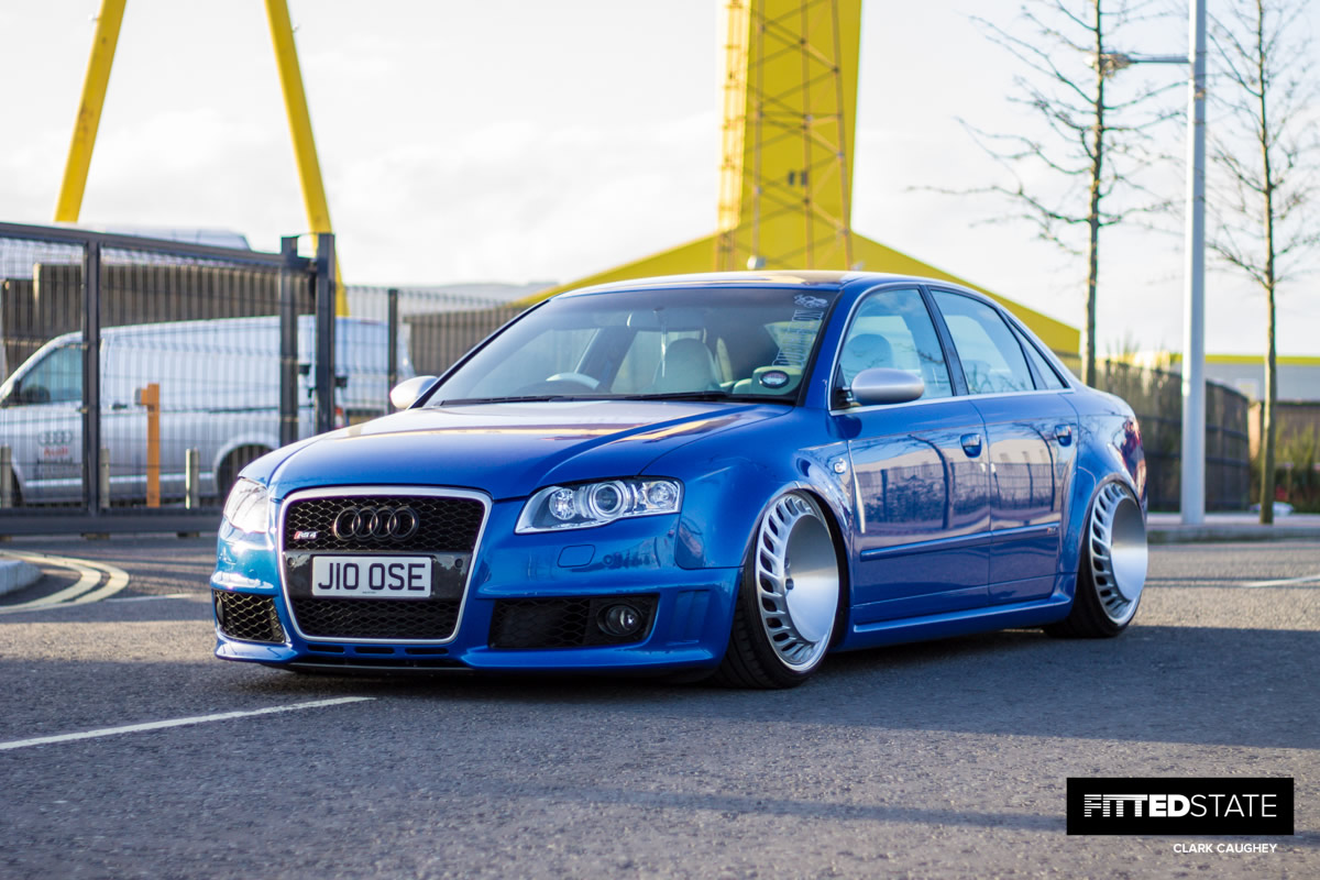 Julian Loose S Supercharged Audi Rs4 Fitted State