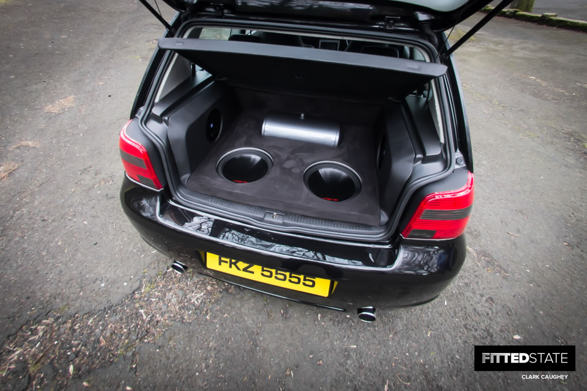 How To Buy A Car Out Of State >> Richard Gibson's MK4 Golf Bagged on CCW Classics - Fitted State