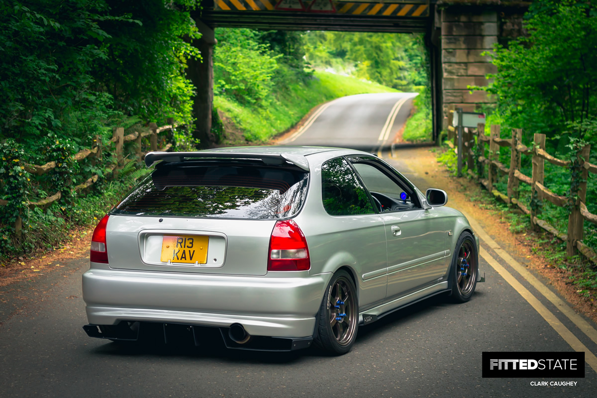 Robin Kavanagh's Boosted EK Civic - Fitted State