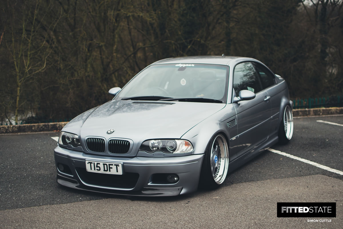 dan taylor s bmw e46 m3 fitted state. Black Bedroom Furniture Sets. Home Design Ideas