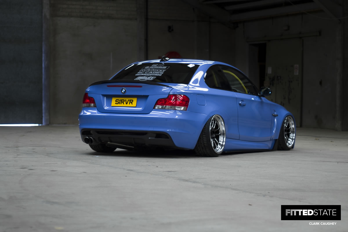 Mark Stewart's BMW 135i M-Sport - Fitted State