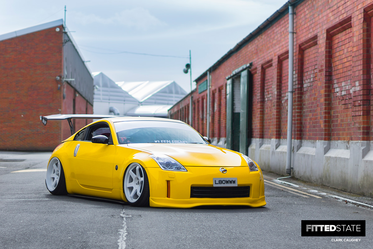 Steven Toner S Nissan 350z Fitted State