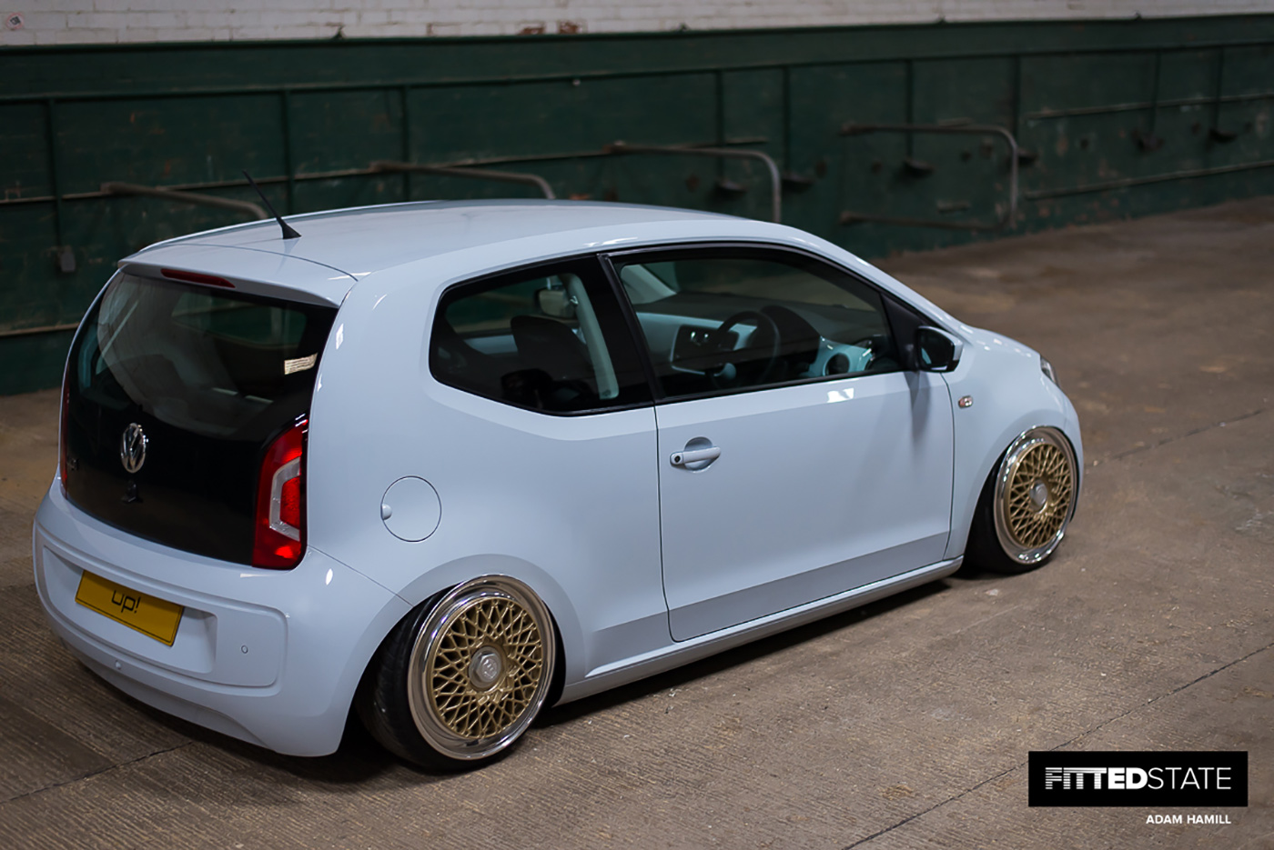 Adam Hamill's Volkswagen Up! - Fitted State