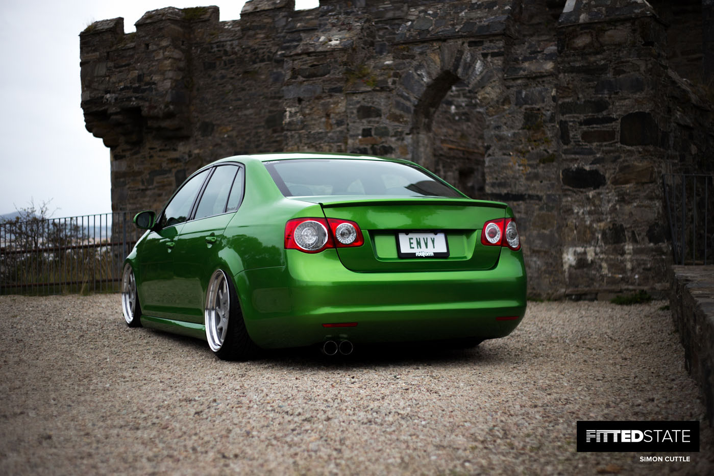 Niall Gerety's Volkswagen Jetta - Fitted State