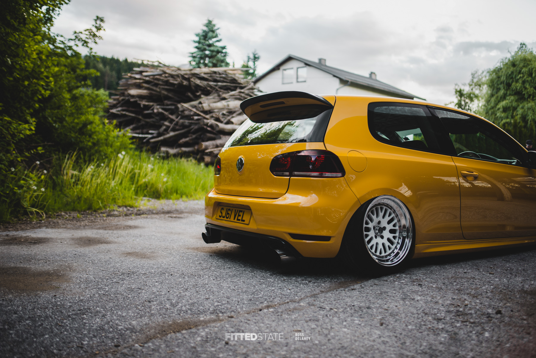 Chris Coles Mk6 Golf Fitted State